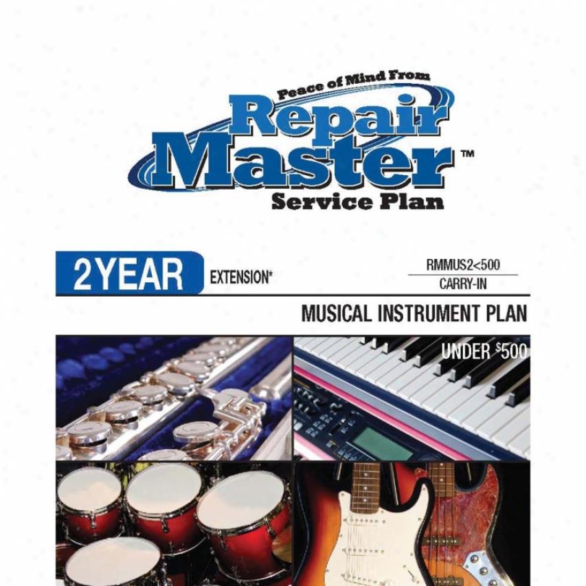 Repair Master Rmmus2u500 - 2 Year Melodious Instruments Warranty Extension Plan