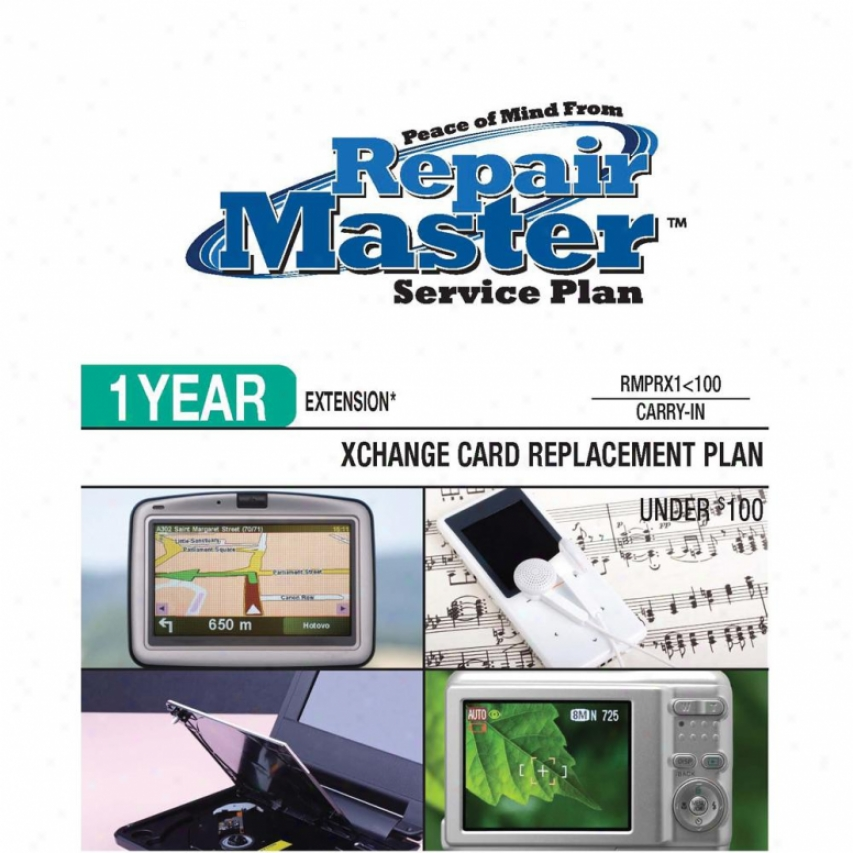 Repair Master Rmprx1u100 1-year Warranty Replacement Service Plan