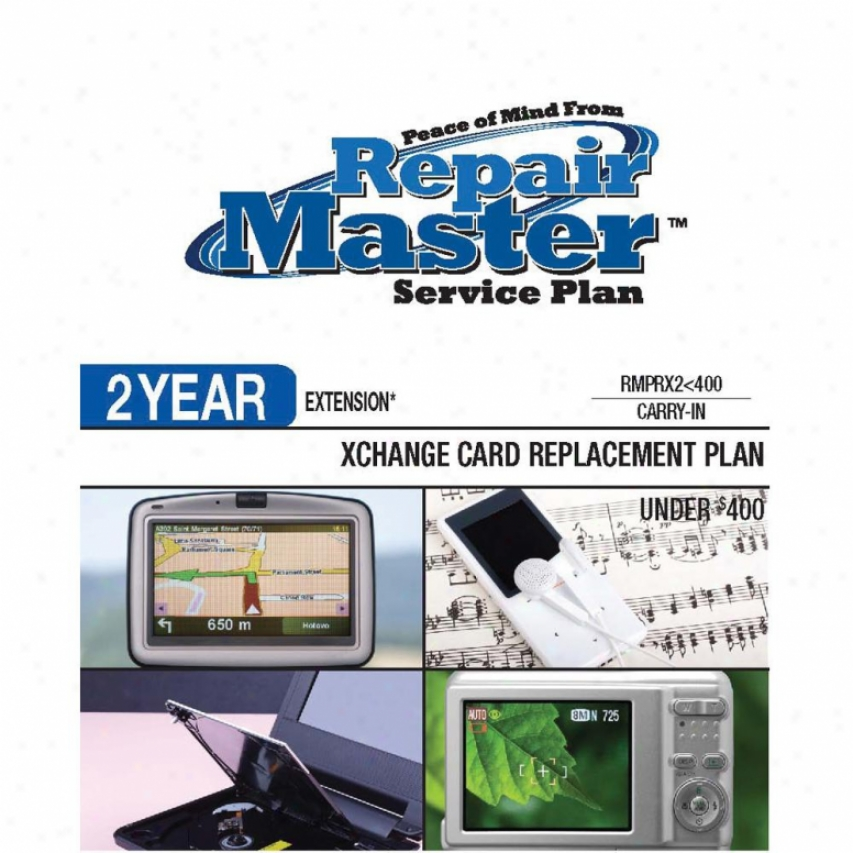 Repair Master Rmprx2u400 - 2-year Warranty Replacement Plan