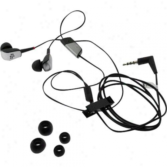 Research In Motion Hdw-15766-005 Blackberry Premium 3.5mm Stereo Earbud Headset