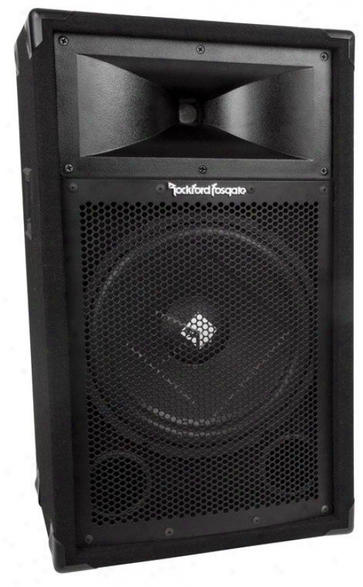 "Rockford Fosgate 12"" 2-way Passjve Chairman"
