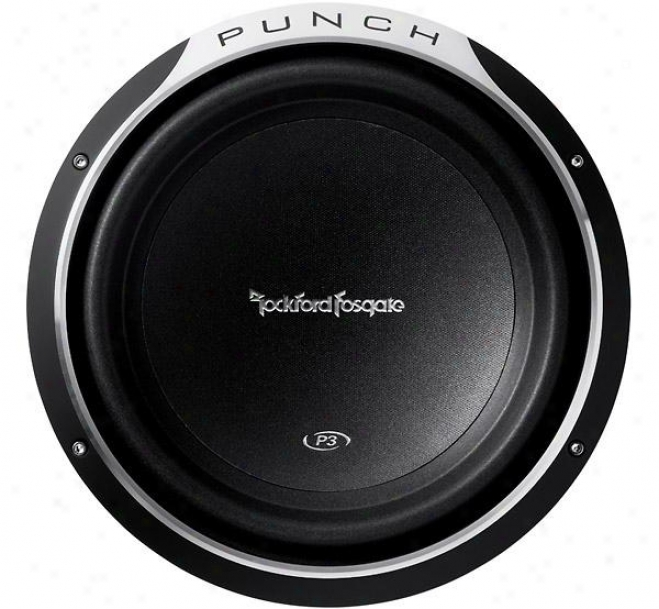 Rockford Fosgate 12&quor; Punch P3 4-ohm Dvc Shallow Subwoofet