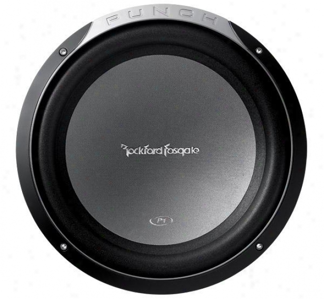 """Rockford Fosgate 300 Watts Max. 12"""" Punch P1 4-ohm Svc Subwoofer"""