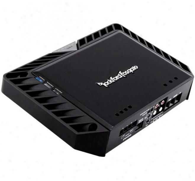 Rockford Fosgate 400 Watt 2-channel Amplifier W/dual Function Eq