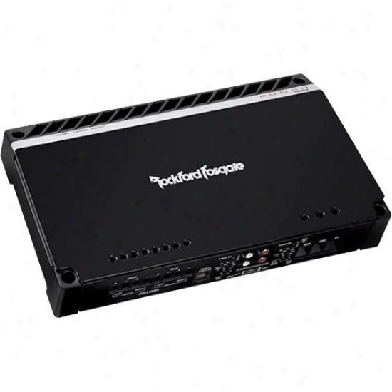 Rockford Fosgate 400 Watt 4-cchannel Amplifier W/top Mounted Led Indicators