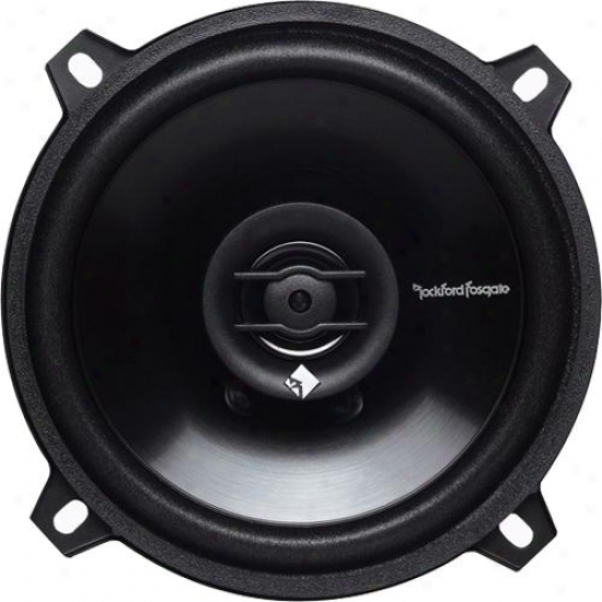 "Rockford Fosgate 5.25"" Prime Full-range Speakers, 70 Watts Max"