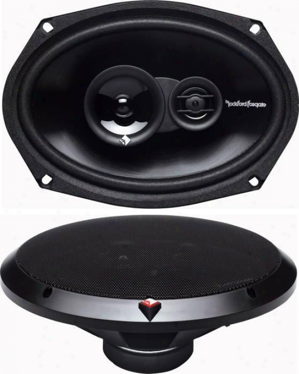 Rockford Fosgate 6in X 9in Prime Full-range Speaker, 120 Watts Max.