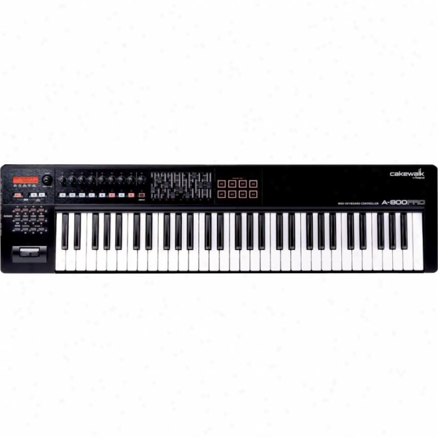 Roland A800 Pro 61-key Midi Controller Keyboard