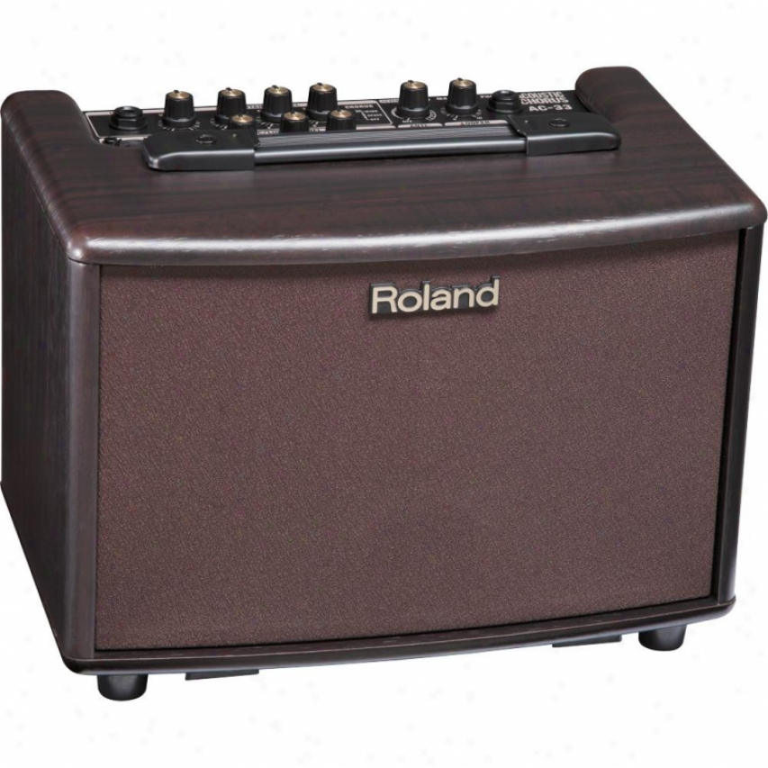 Roland Ac-33 Acoustic Chorus Guitar Amplifier - Rosewood