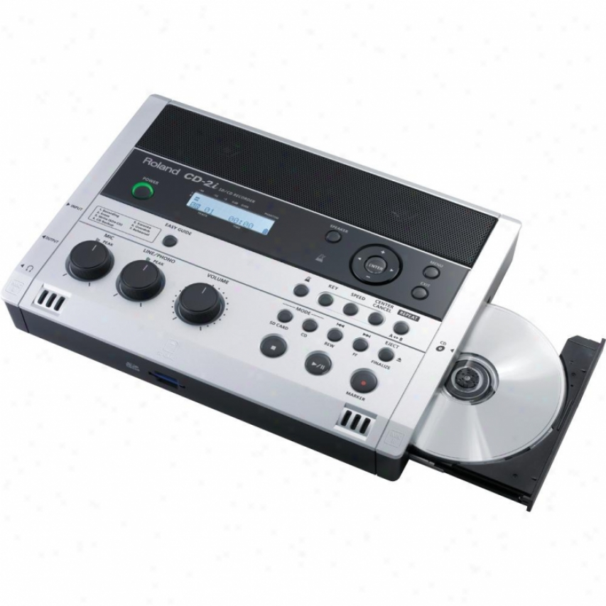 Roland Cd-2i Sd/cd Recorder