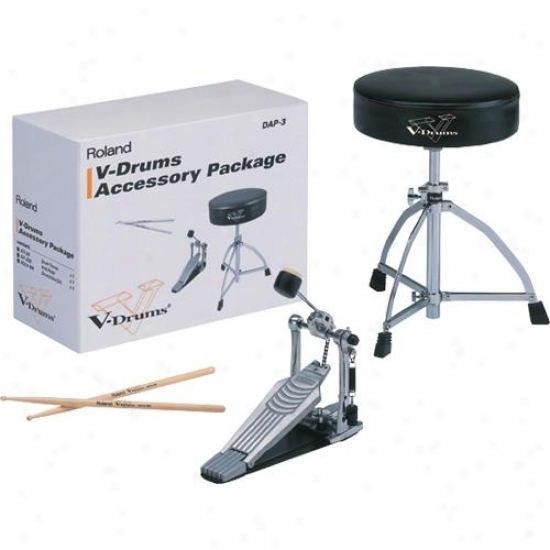 Roland Dap3 V -drums Accessory Package