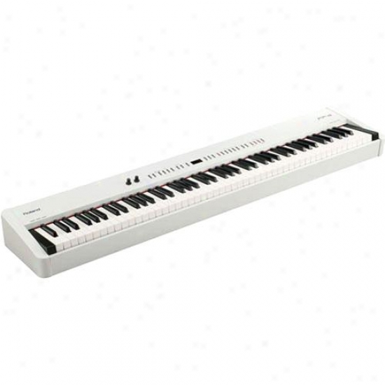 Roland Fp-4-whc Digital Portable Piano With Srand