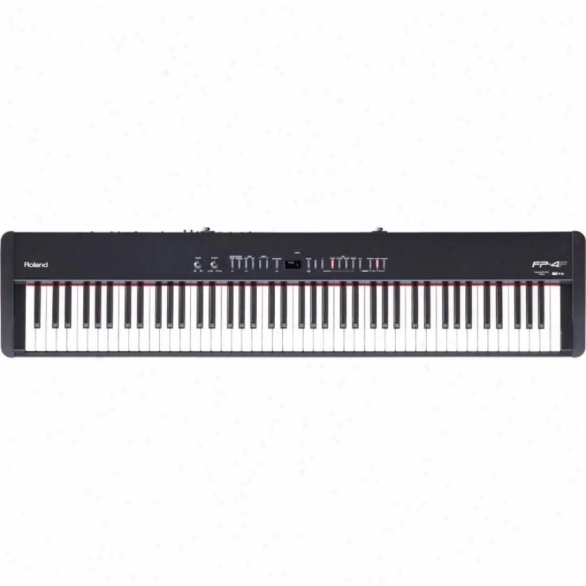 Roland Fp-4f 88-key Digital Piano - Black