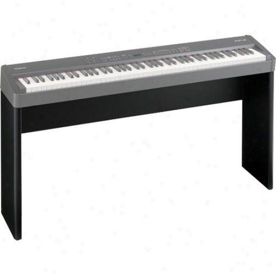 Roland Ksc44bk Wooden Keyboard Stand For Roland Fp4 & F7p Digital Piano - Black