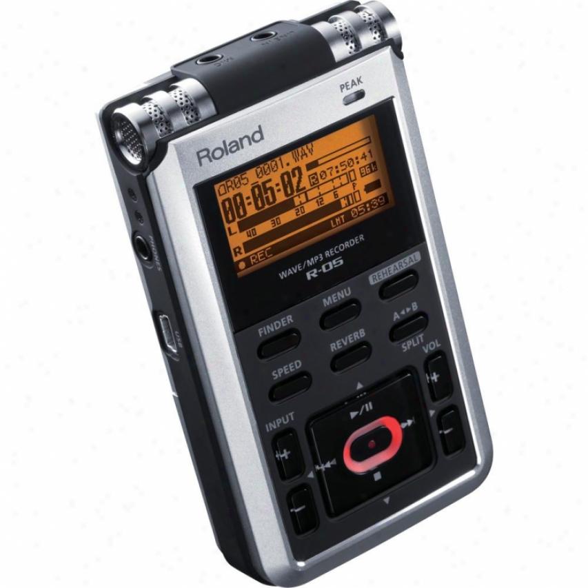 Roland R-05 Handheld iFeld Recorder