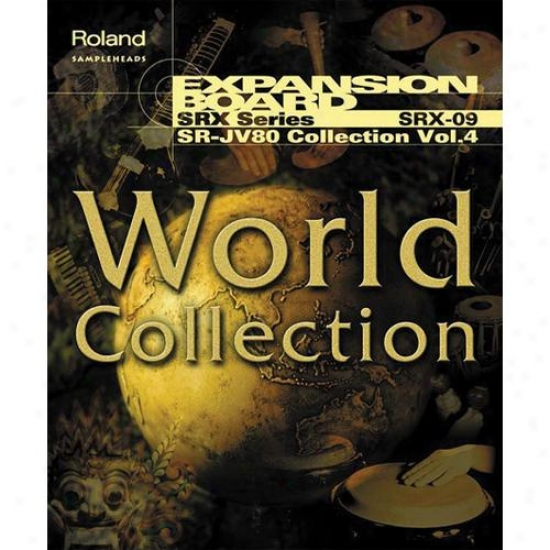 Roland Srx-09 World Collection Expansion Boarx