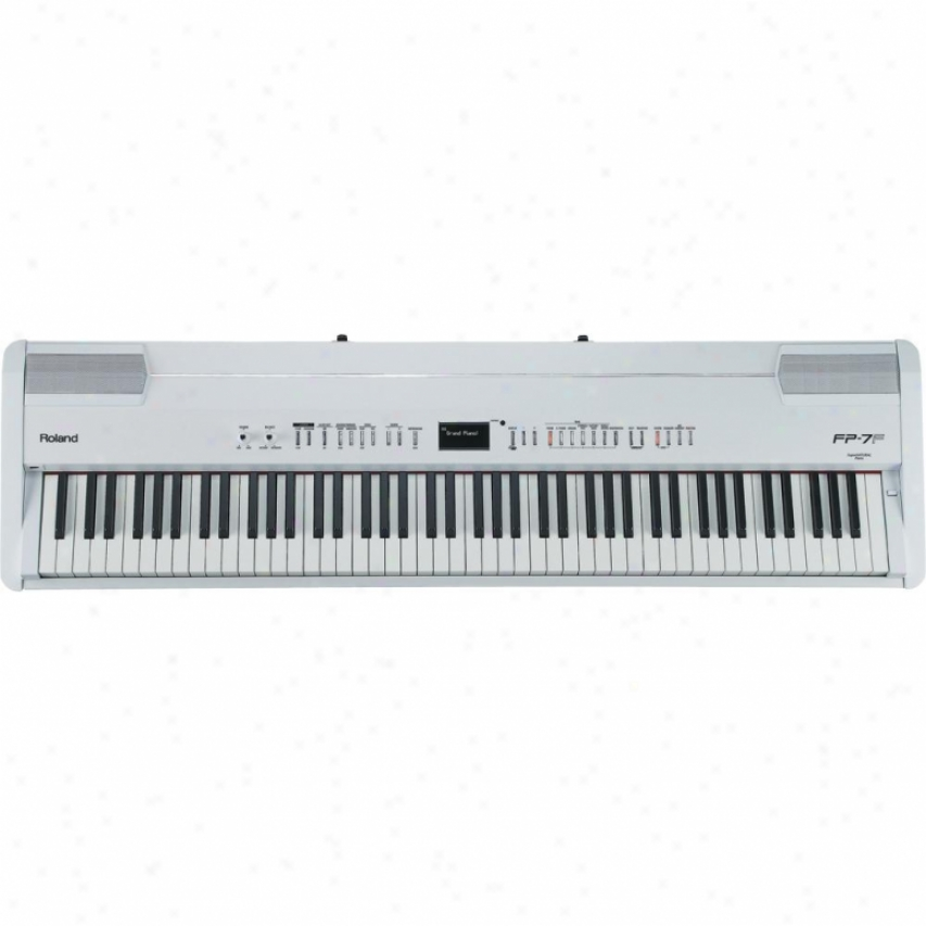 Roland Supernatural Digital Portable Piano Fp-7f - White