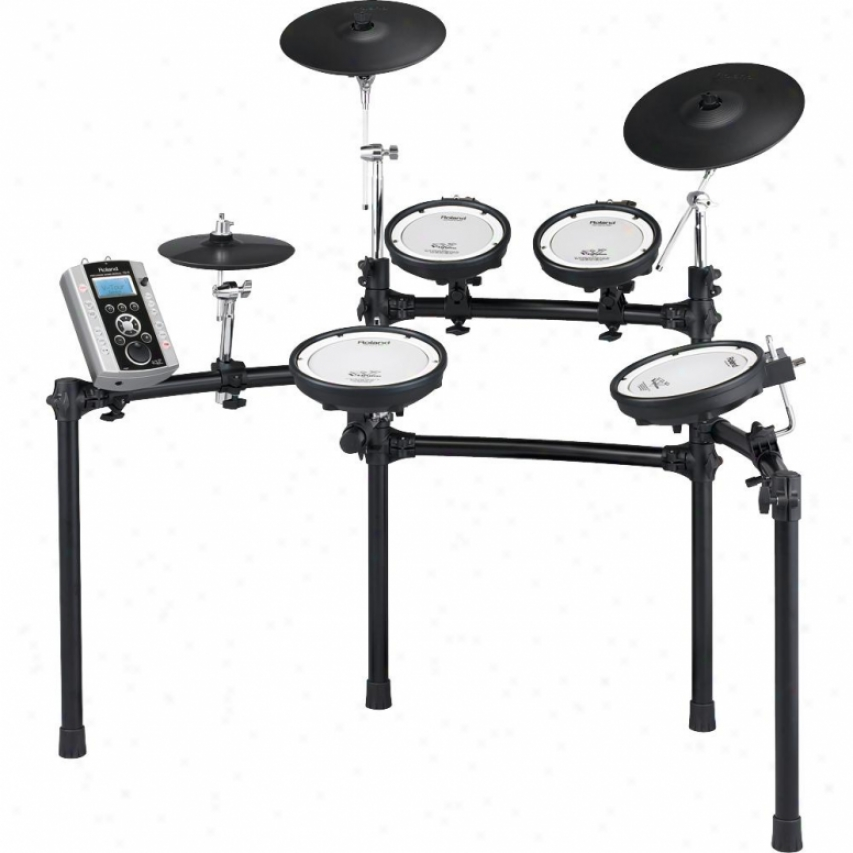 Roland Td-9k2-w V-tour Series Kit Drum Set