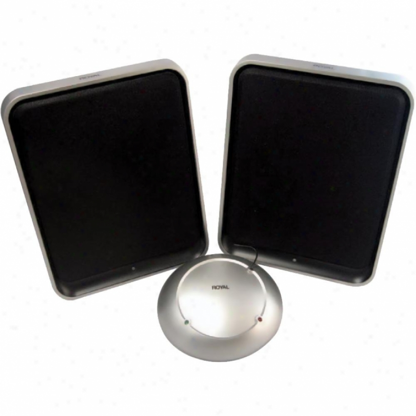 Royal Consumer Wes600 Wirelesd Speakers