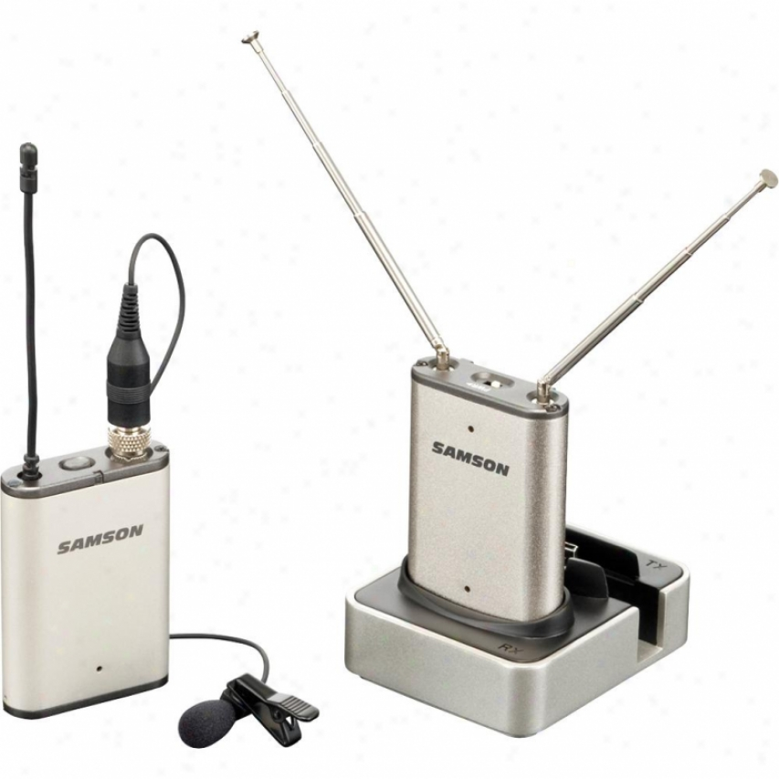 Samson Audio Airline Micro Camera Wireless Microphone System For Cameras