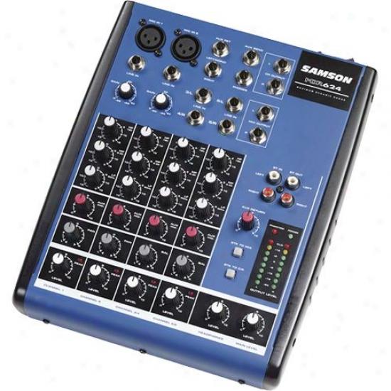 Samson Audio Mdr624 Mixer