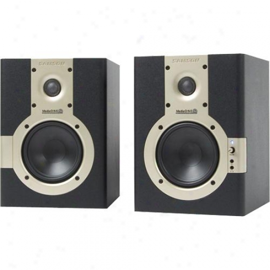 Samson Audio Mediaone 5a Active Studio Monitors