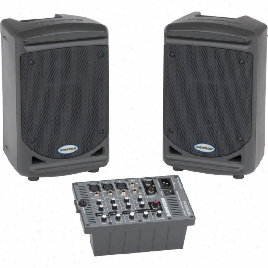 Samson Audio Open Case Expedition Xp150 150w Portable Pa