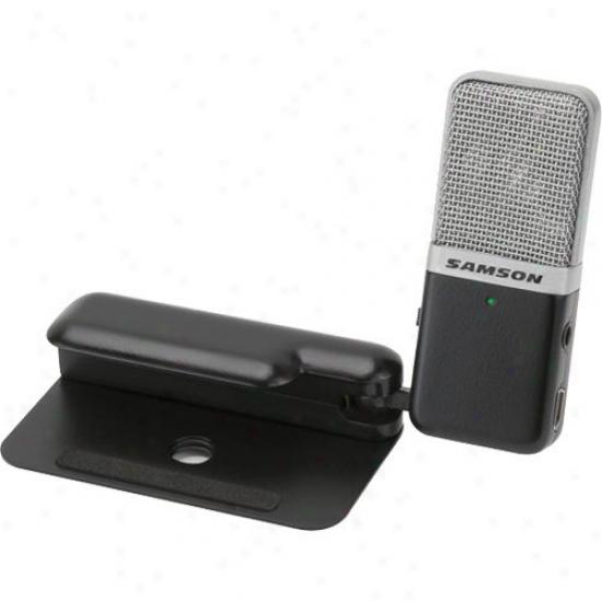 Samson Audio Spread Box Gomic Portable Usb Condenser Microphone - Black