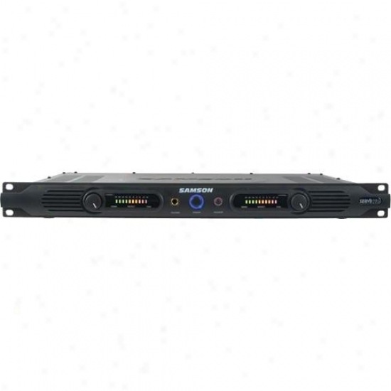 Samson Audio Open Box Servo 201a 200-watt 1i Power Amplifier