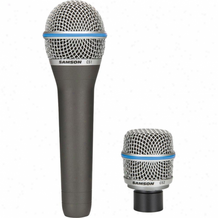 Samson Audio Sacsmic Cs Series Capsule Select Microphone