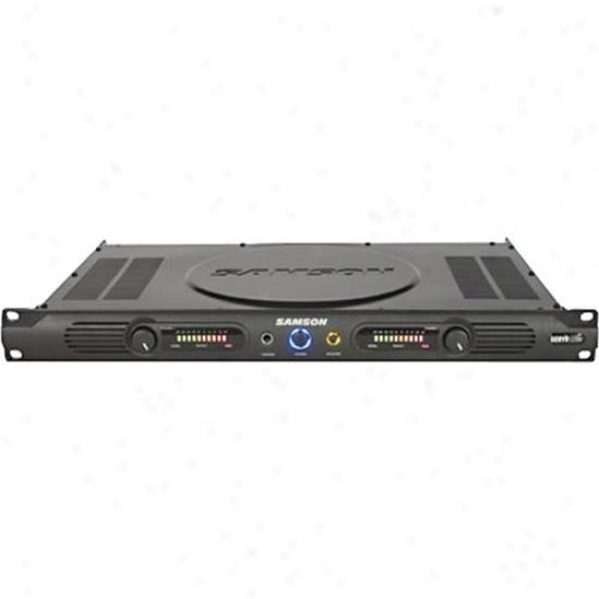 Samson Audio Srvo 120a Power Amplifirr