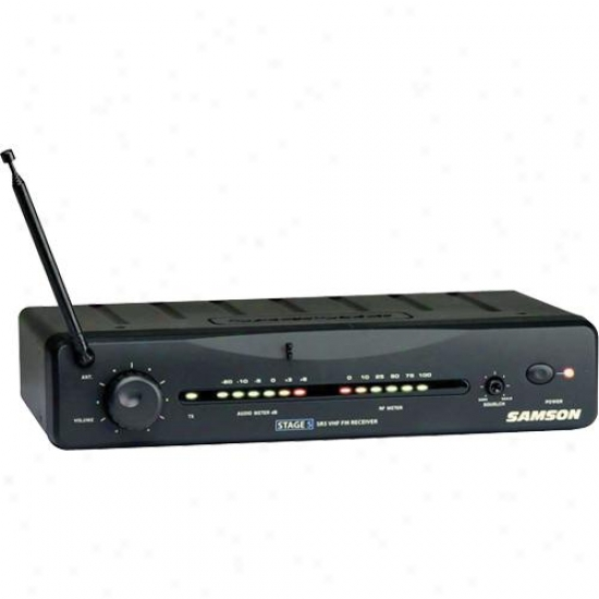 Samson Audio Sw05r00-0 Stage 5 Wireless Receiver For Microphone System