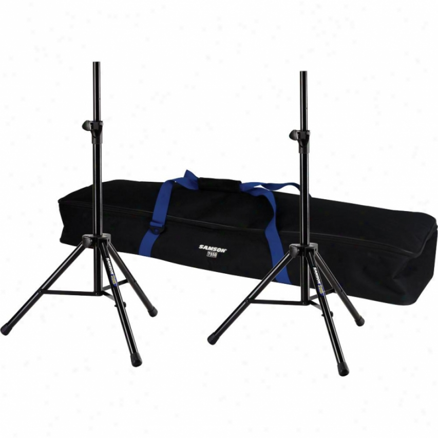 Samson Audio Ts50 Speaker Stand (pair) W/ Gig Bag - Sats50p