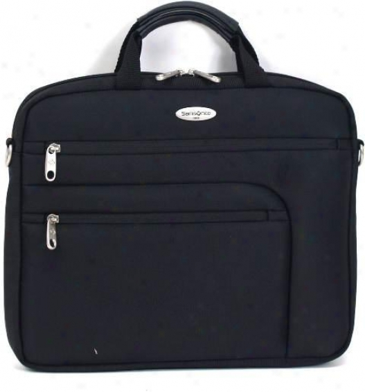 Samsonite Computer Sleeve W/durable 1680d Ballistic Polyester Exterior & And Ful