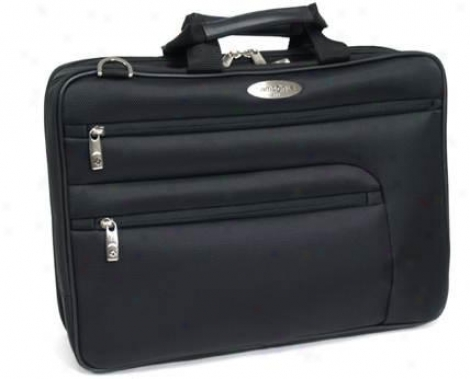 Samsonite Polyester Portfolio Collection 4 Double Guaset Top Zip Portfolio/compu