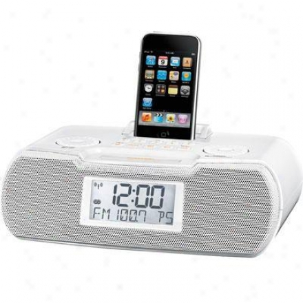 Sangean Am/fm Atomic Clock Radio/d0ck