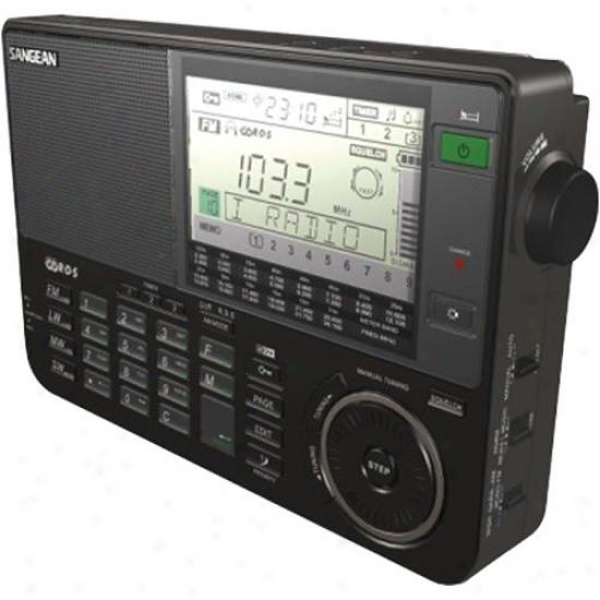 Sangean Ats-909x Shortwave Receiver Portable Radio - Dismal