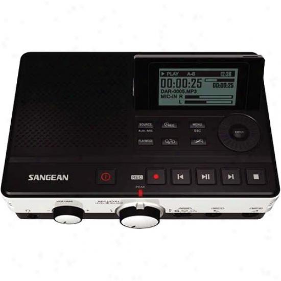 Sangean Dar-101 Dogital Mp3 Audio Recorder