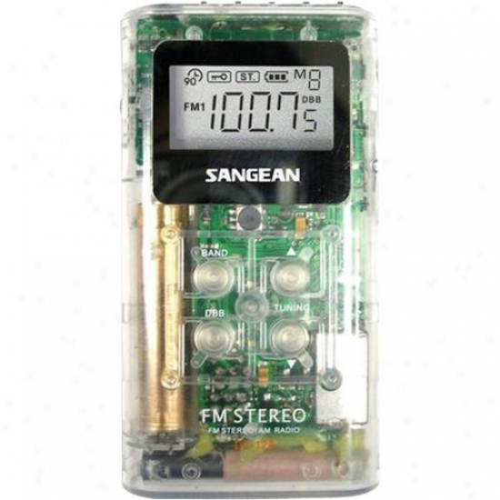 Sangean Dt-120 Digital Pocket Radio