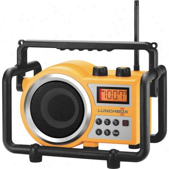 Sangean Lb-100 Lunchbox Compact Industrial Am/fm Radio