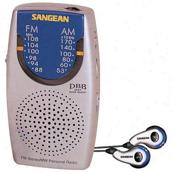 Sangean Sr3 Am/fm Pocket Size Radio