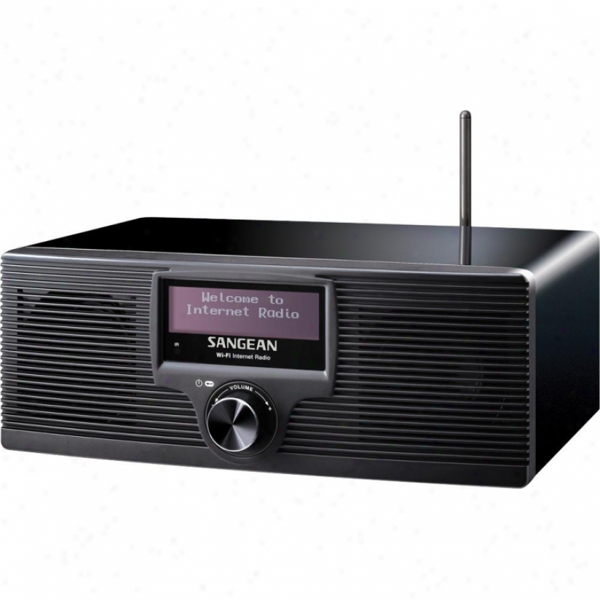 Sangean Wfr-20 Wi-fi Internet Clock Radio & Media Player