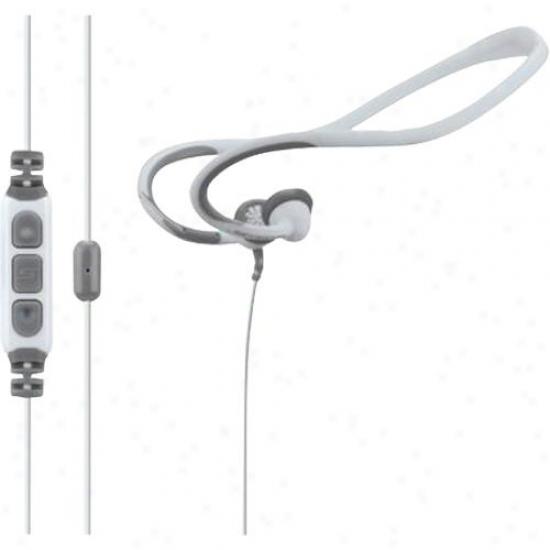 Scosche Actionwraps Ii - Sport Wrap Earbuds W/ Tapline Iii Remote & Mic