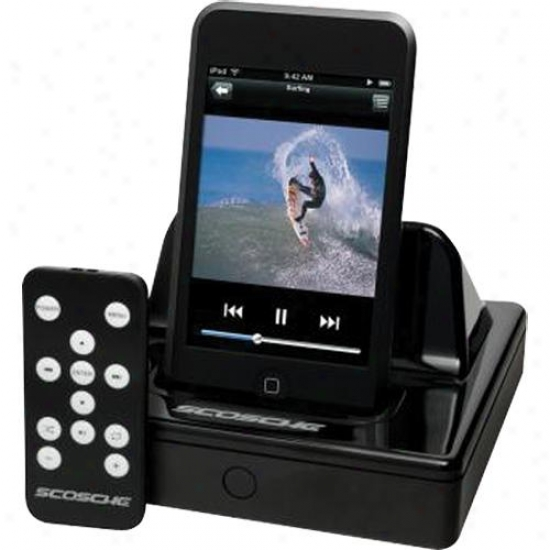 Scosche Ipavdoc2 Soundview Ii - Audio/video Dock For Ipod & Iphone
