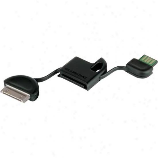 Scosche Ipusbm Flipsync Usb 2.0 Charge & Sync Cabl eFor Ipod & Iphone
