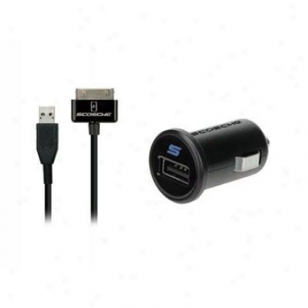 Scosche Powerplug Pro Usb Car Chgr For