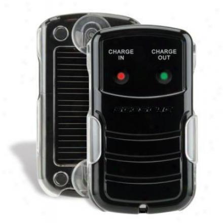 Scosche Solar Pwrd B/u Battery & Chrgr