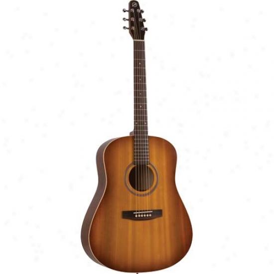 Seagull 029822 S6 Entourage Acoustic Guitar - Rustic Burst