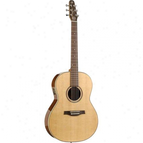 Seagull Maritime Sws Folk High Gloss Qi Acoustic-electric Guitar - Natural