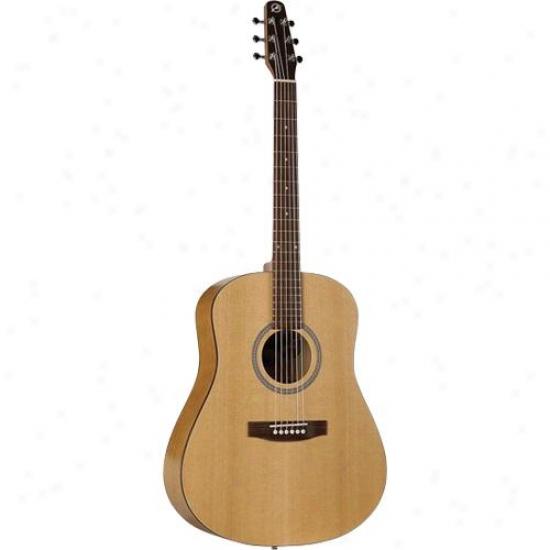 Seagull S6 Cedar Weak Guitar - Semi-gloss Custom Polished Finish